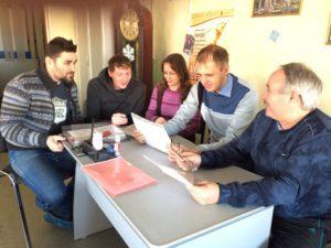 На фото: заседание Омского клуба спортивных журналистов
